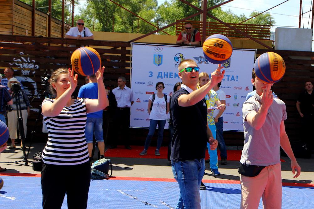 Презентація юніорських збірних з баскетболу 3х3: фотогалерея