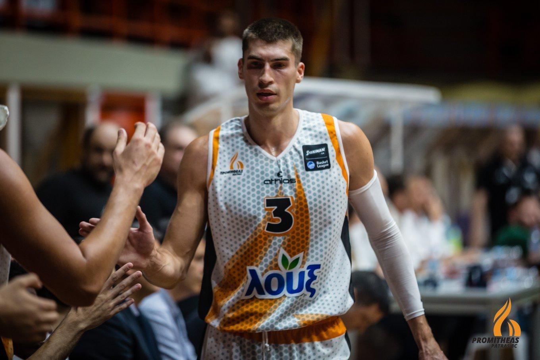 Олександр Липовий завершив сезон у Греції