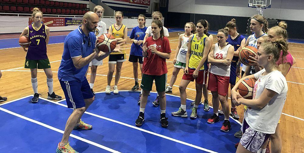 Жіноча збірна України U-14: перші збори у Запоріжжі