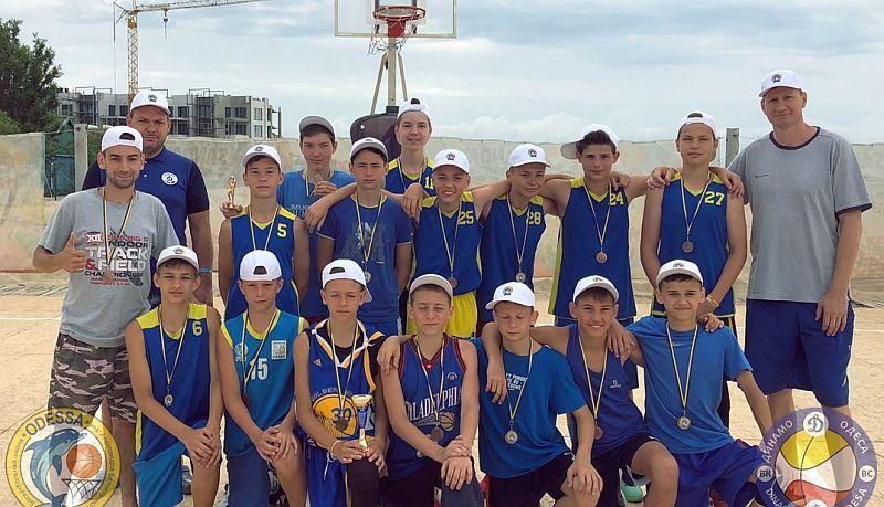 Завершено третю зміну дитячого баскетбольного табору Примор'я-2018
