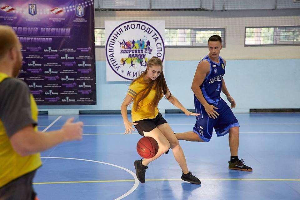 Баскетбол у спартакіаді Здоровий Киянин: телерепортаж