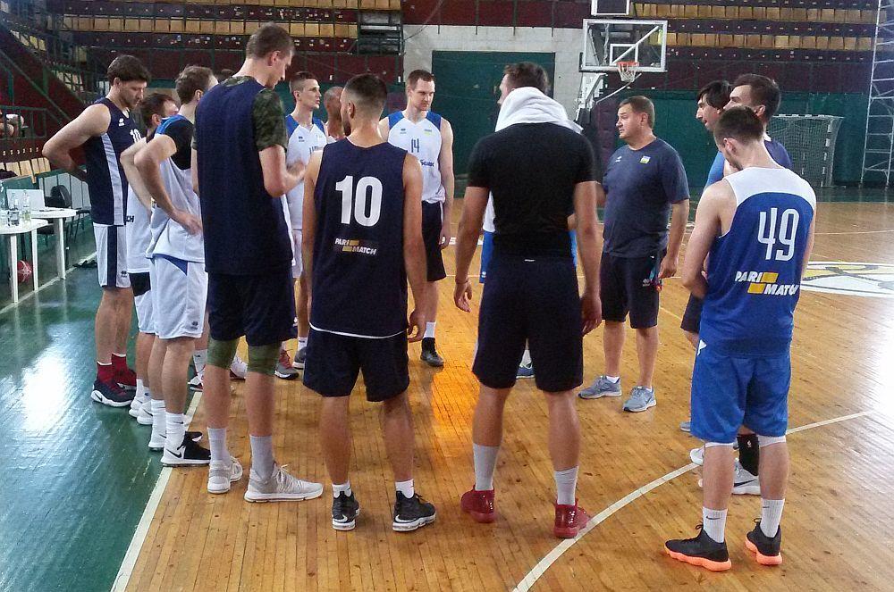 Національна чоловіча збірна України: тренування перед спарингами в Ізраїлі