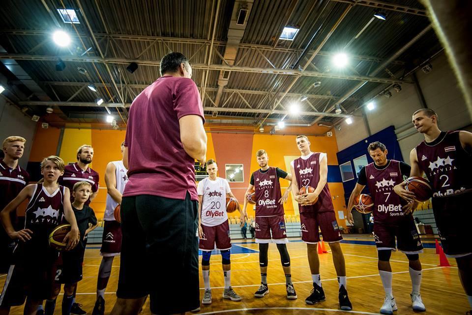 Латвія готується до матчу проти України: фотогалерея
