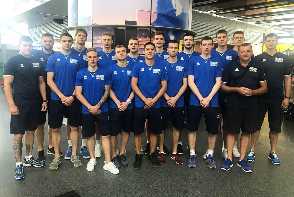 Чоловіча збірна України U-18 вирушила на спаринги до Грузії