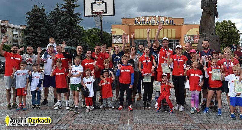 У Рівному зіграли сімейний турнір з баскетболу 3х3: фотогалерея
