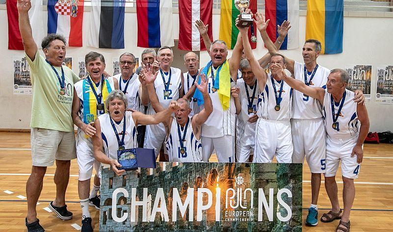 Віталій Детюк: cтатус українського баскетболу ветерани тримають на високому рівні