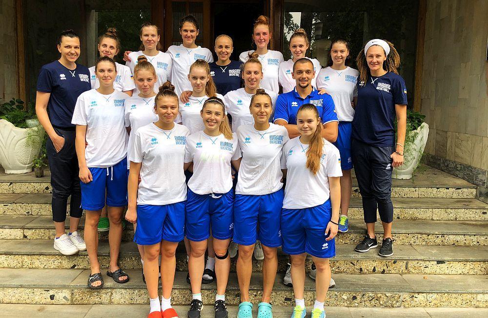 Жіноча збірна України U-20: на спаринги до столиці чемпіонату