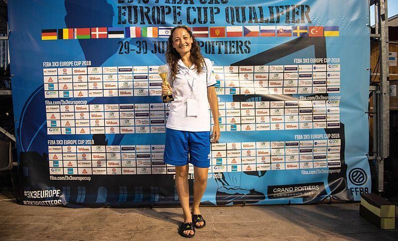 Українка Філевич стала найкращим гравцем кваліфікації чемпіонату Європи