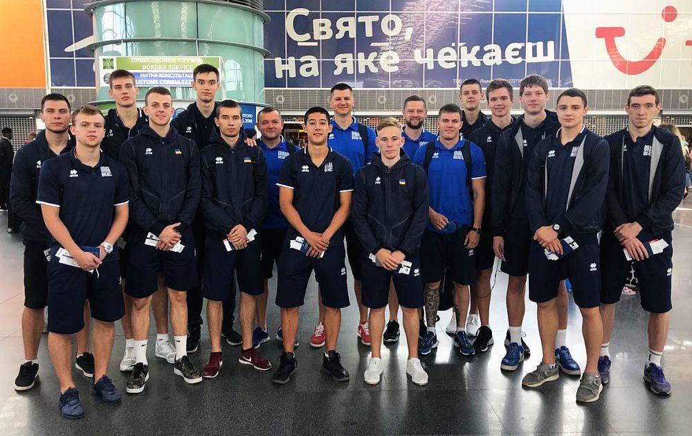 Чоловіча збірна України U-18 вирушила на матчі до Франції