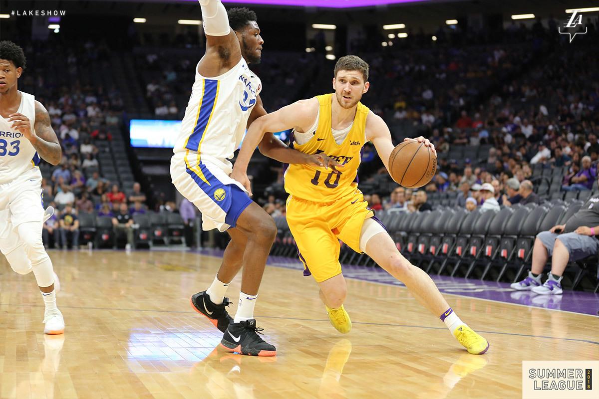 Михайлюк зіграв у Літній лізі НБА проти Голден Стейт