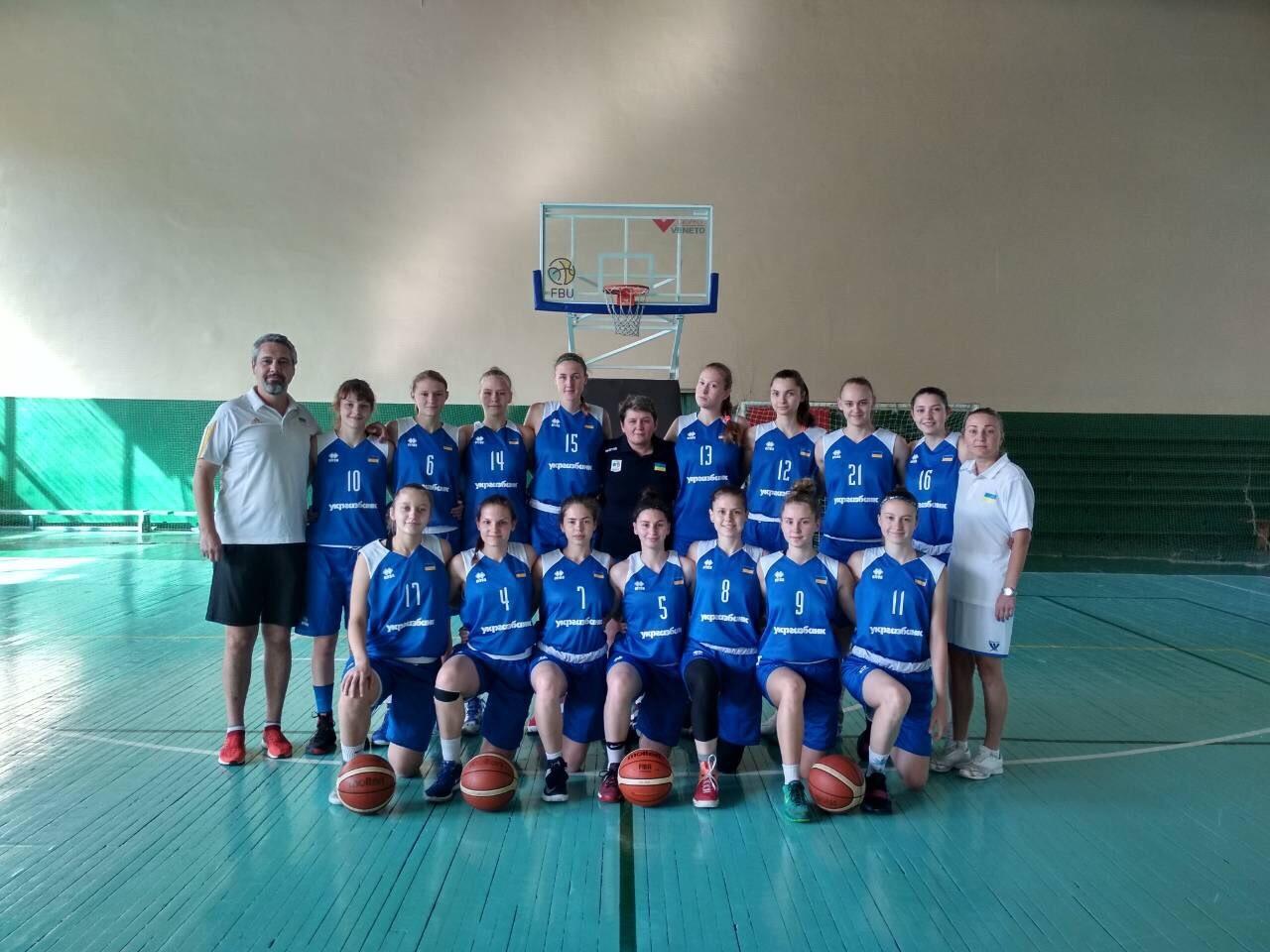 Жіноча збірна України U-18: другий етап підготовки розпочато