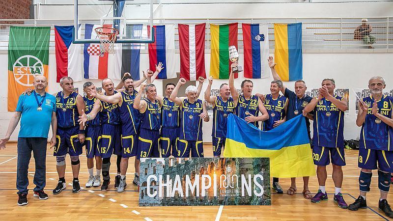 Баскетболісти з Кропивницького перемогли на чемпіонаті Європи