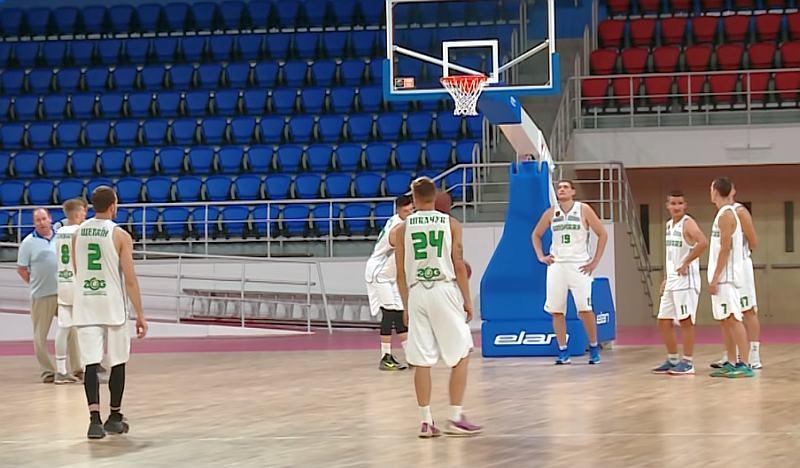 Запоріжжя-ZOG вперше тренувалося в оновленому Палаці спорту