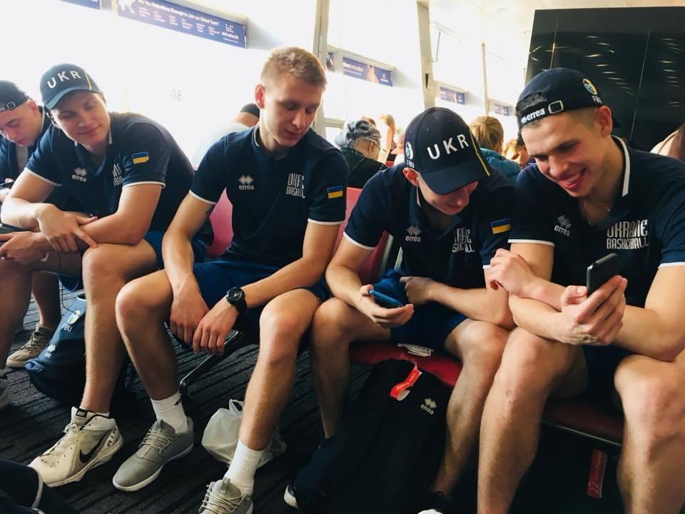 Чоловіча збірна України U-20 відправилась на чемпіонат Європи