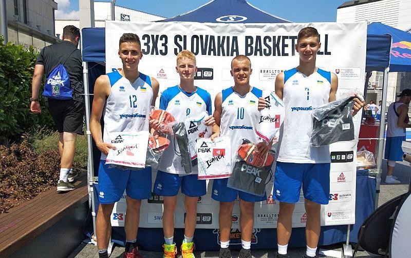 Збірна України U-18 перемогла на турнірі в Братиславі