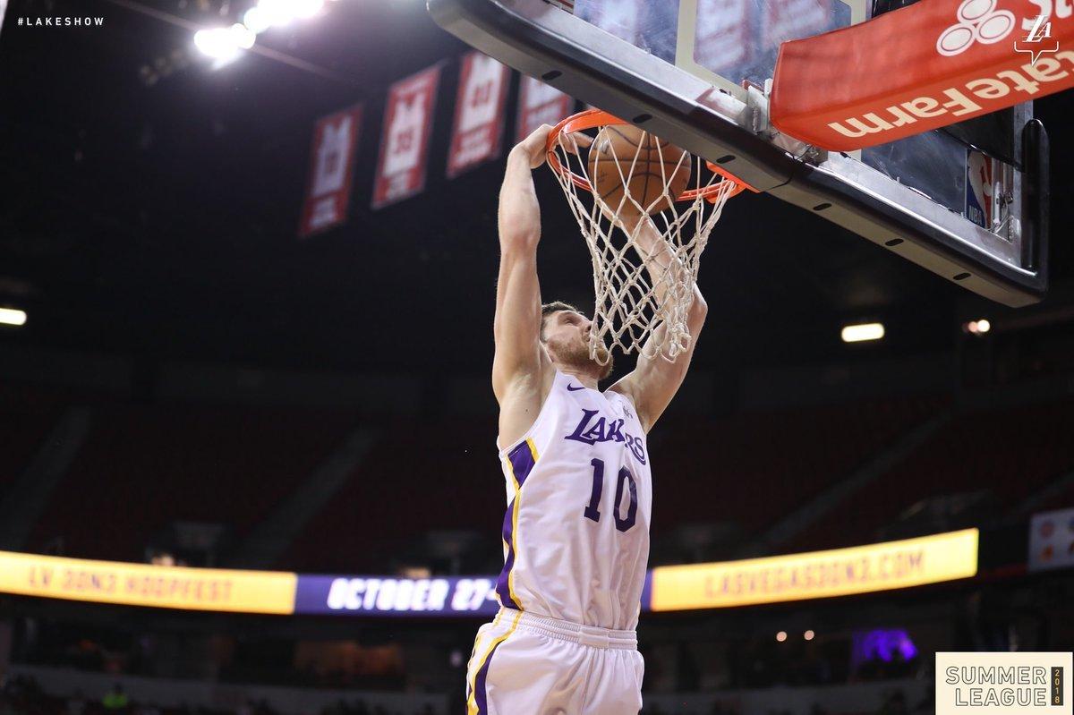 Михайлюк та Лейкерс у баскетбольному трилері вийшли у фінал Літньої ліги НБА