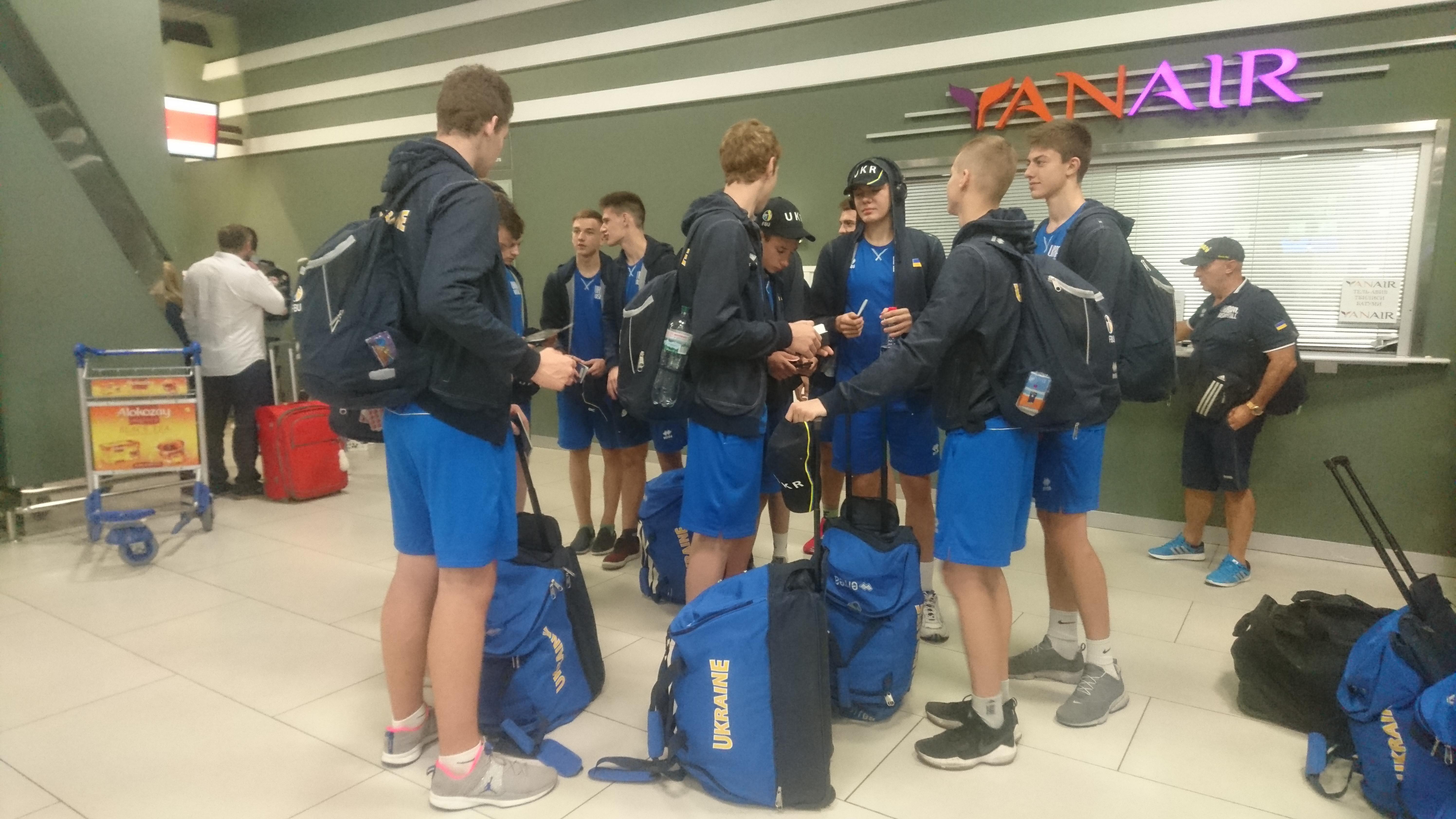Збірна України U-16 відправилась на контрольні поєдинки до Латвії