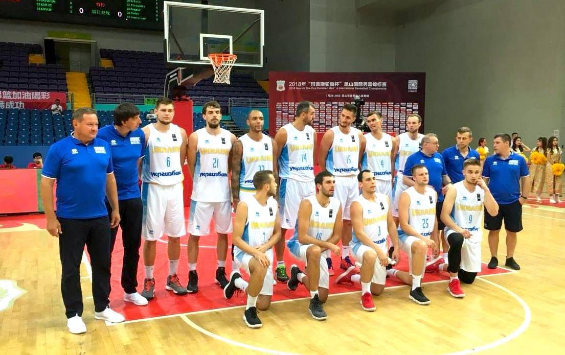 Збірна України перемогла Анголу на турнірі в Китаї