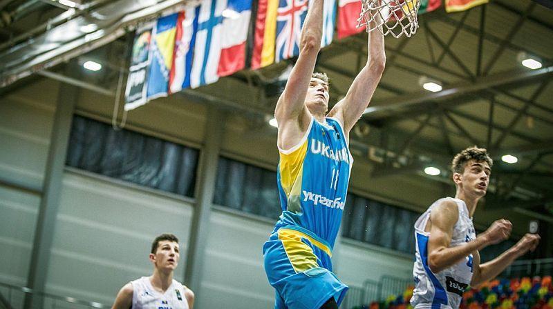 Збірна України U-18 здобула першу перемогу на чемпіонаті Європи
