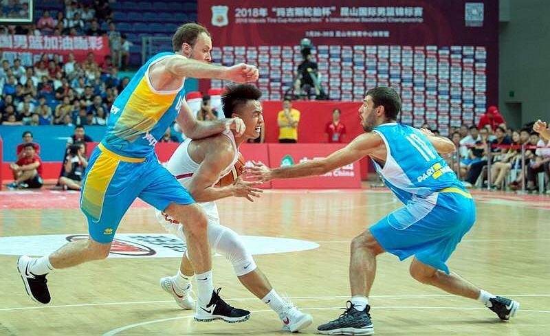 Збірна України фінішувала третьою в Китаї