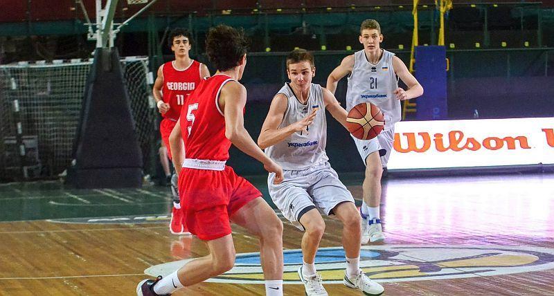 Збірна України U-16 поступилася Грузії