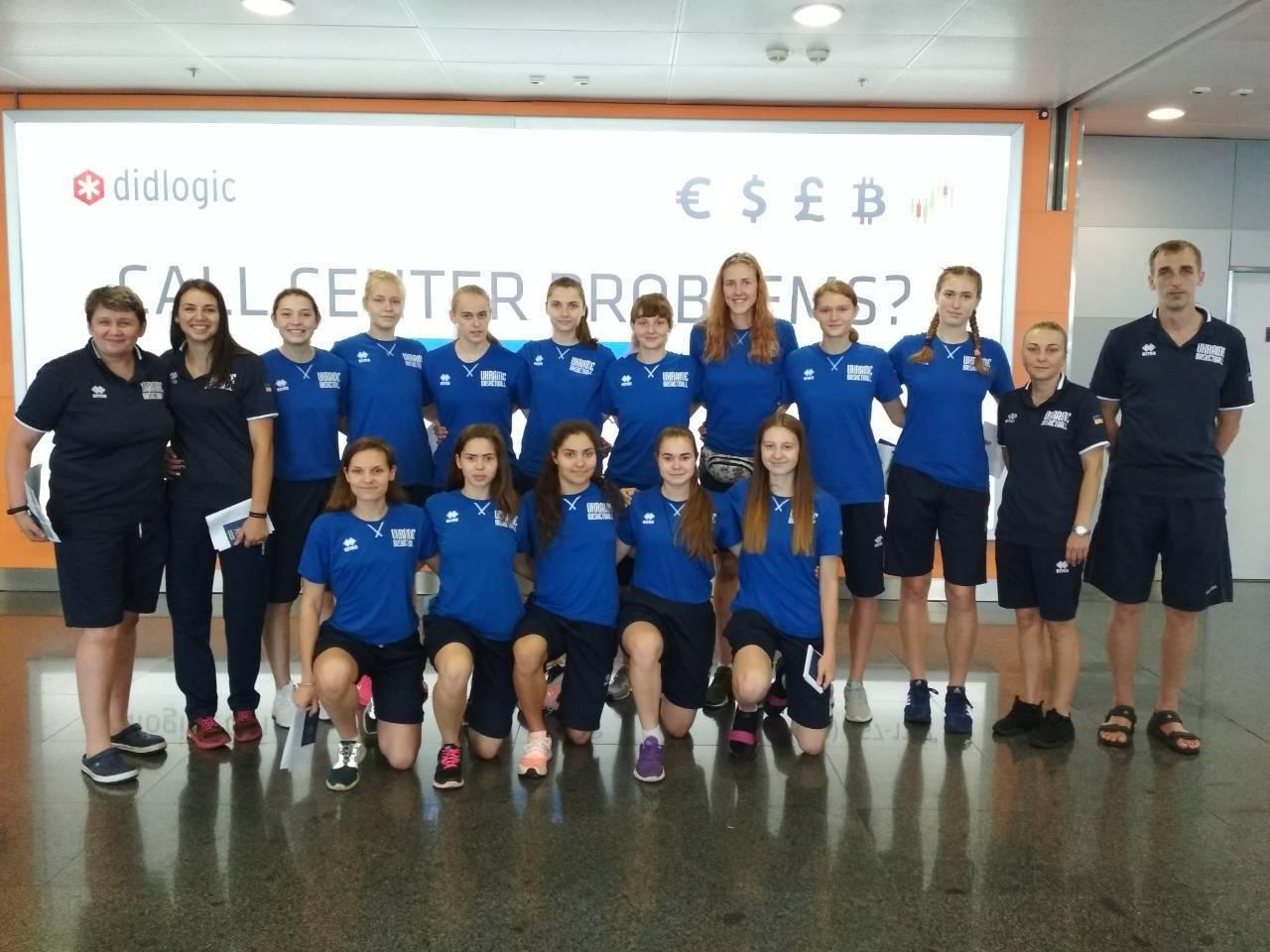 Жіноча збірна України U-18 на Євробаскеті-2018: розклад та система змагань