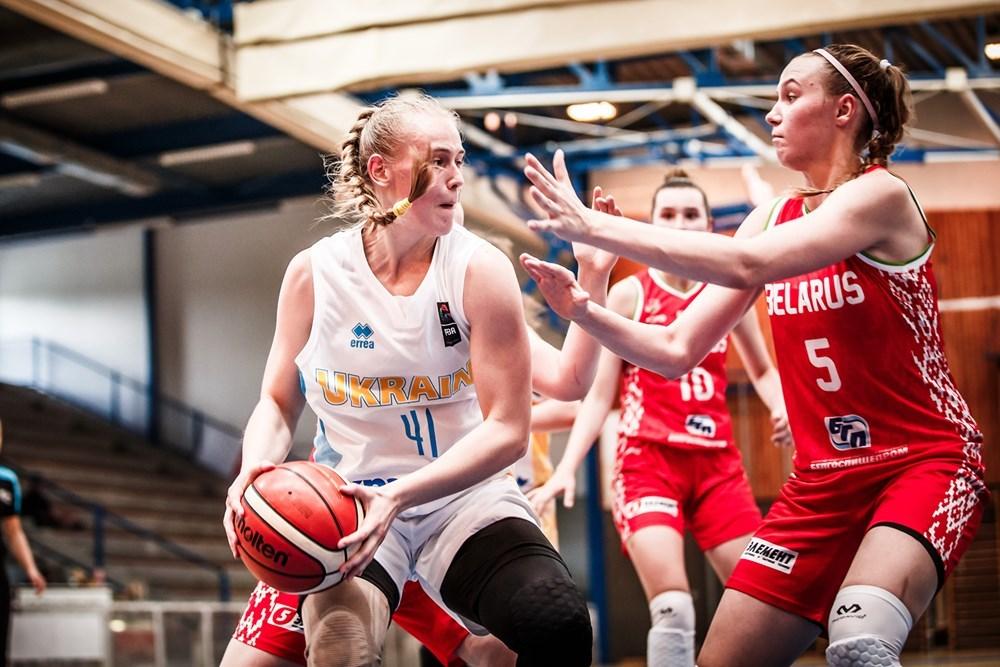 Жіноча збірна України U-18 розпочала чемпіонат Європи з поразки від Білорусі