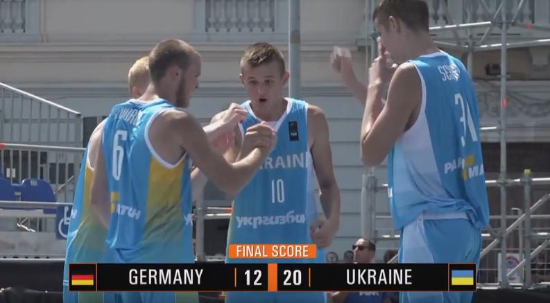 Чоловіча збірна України 3х3 перемогла лідера групи у відборі на чемпіонат Європи U-18