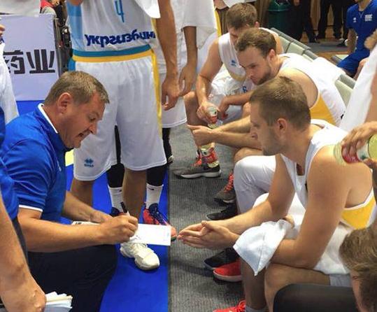 Друга збірна України у контрольному матчі поступилась Китаю