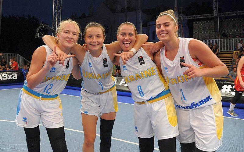 Жіноча збірна України U-18 зіграє за вихід на чемпіонат Європи 3х3
