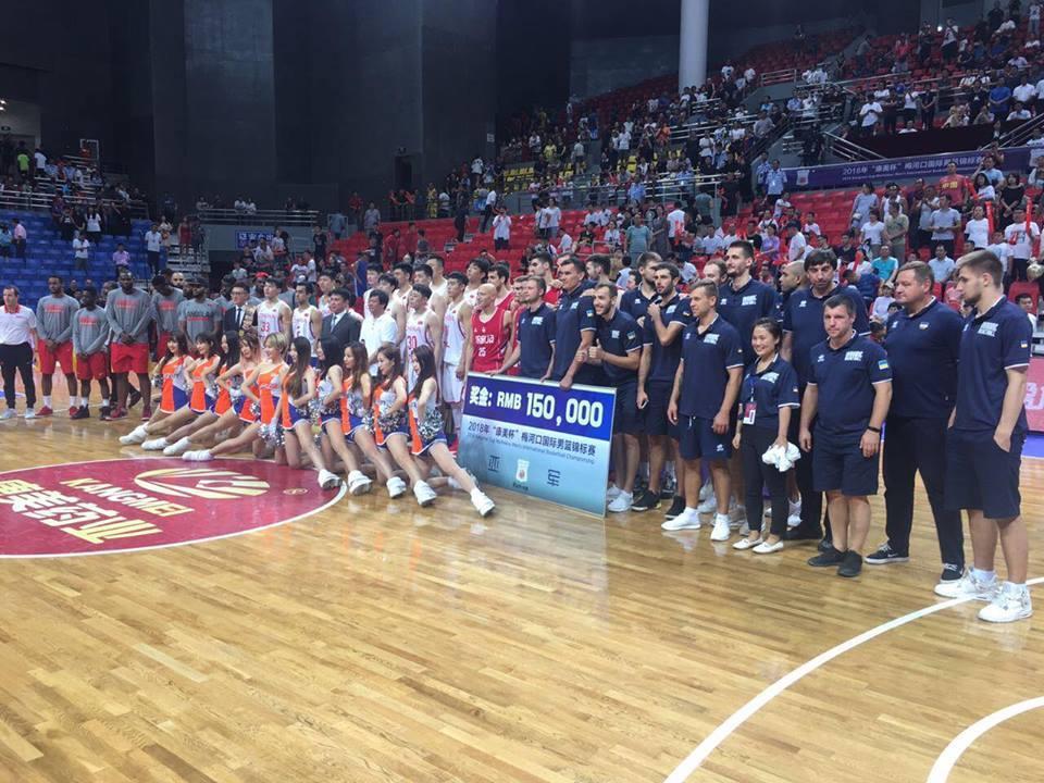 Друга збірна України завершила турнір у Китаї перемогою над Анголою і посіла друге місце