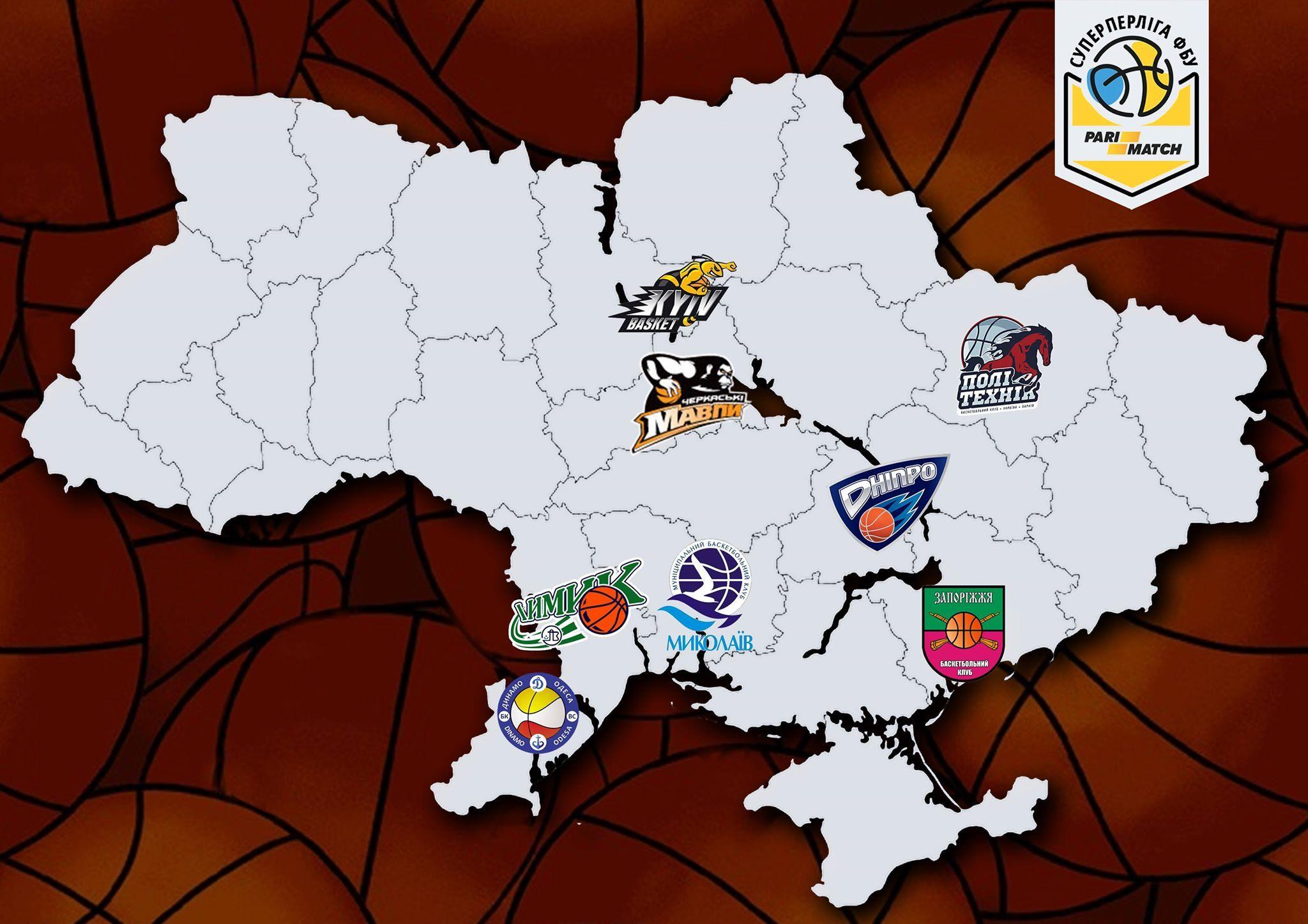 В українській Суперлізі виступатиме 8 клубів