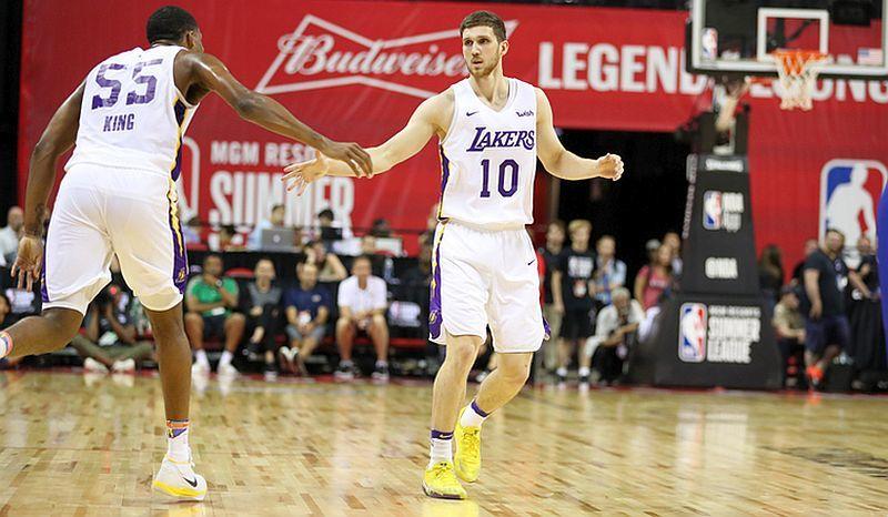 Названо дату старту Лейкерс Михайлюка в новому сезоні НБА