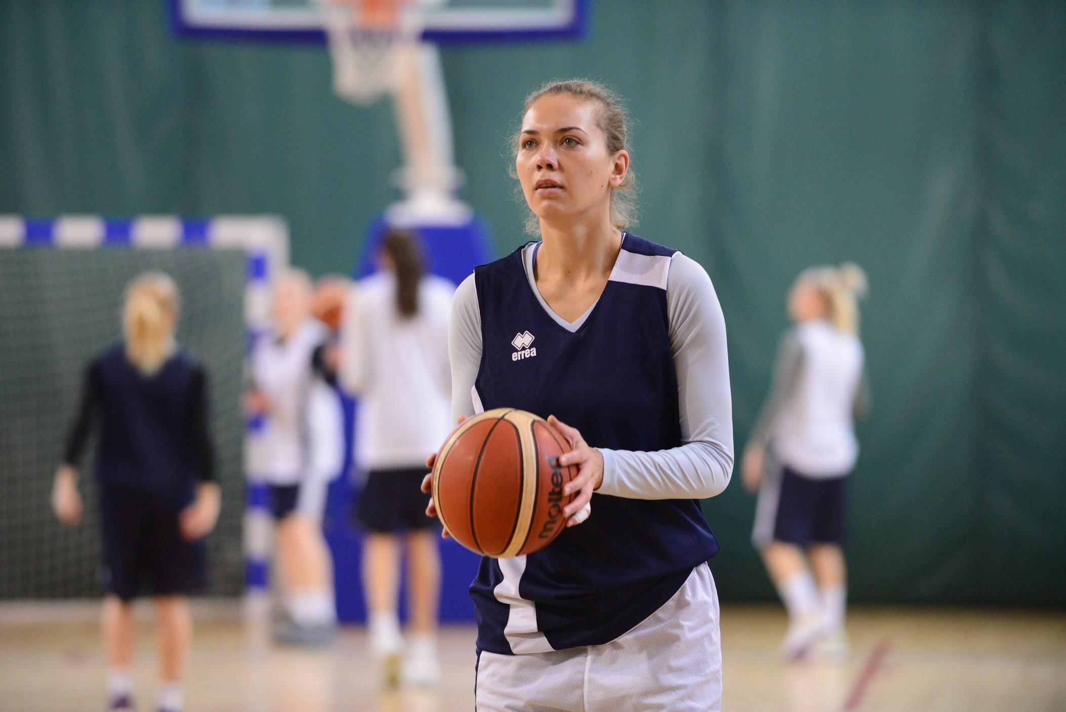 Жіноча збірна України: київська підготовка до турніру у Латвії