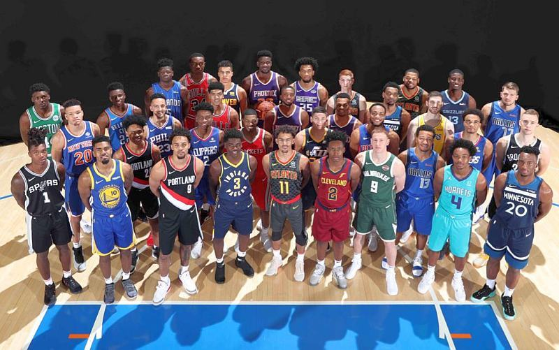 Українець Михайлюк взяв участь у фотосесії новачків НБА