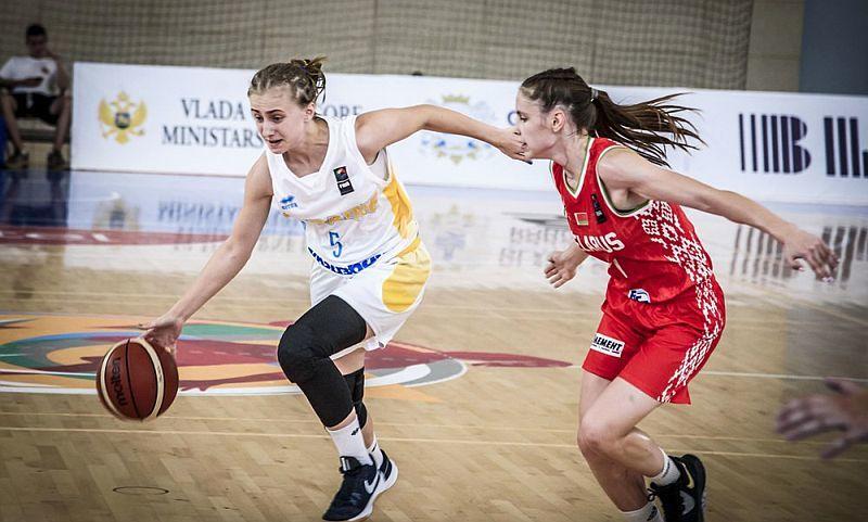Жіноча збірна України U-16 поступилася в другому матчі ЄвроБаскета