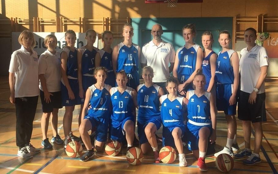 Збірна України U-14 поступилася Латвії на Чемпіонаті Європи