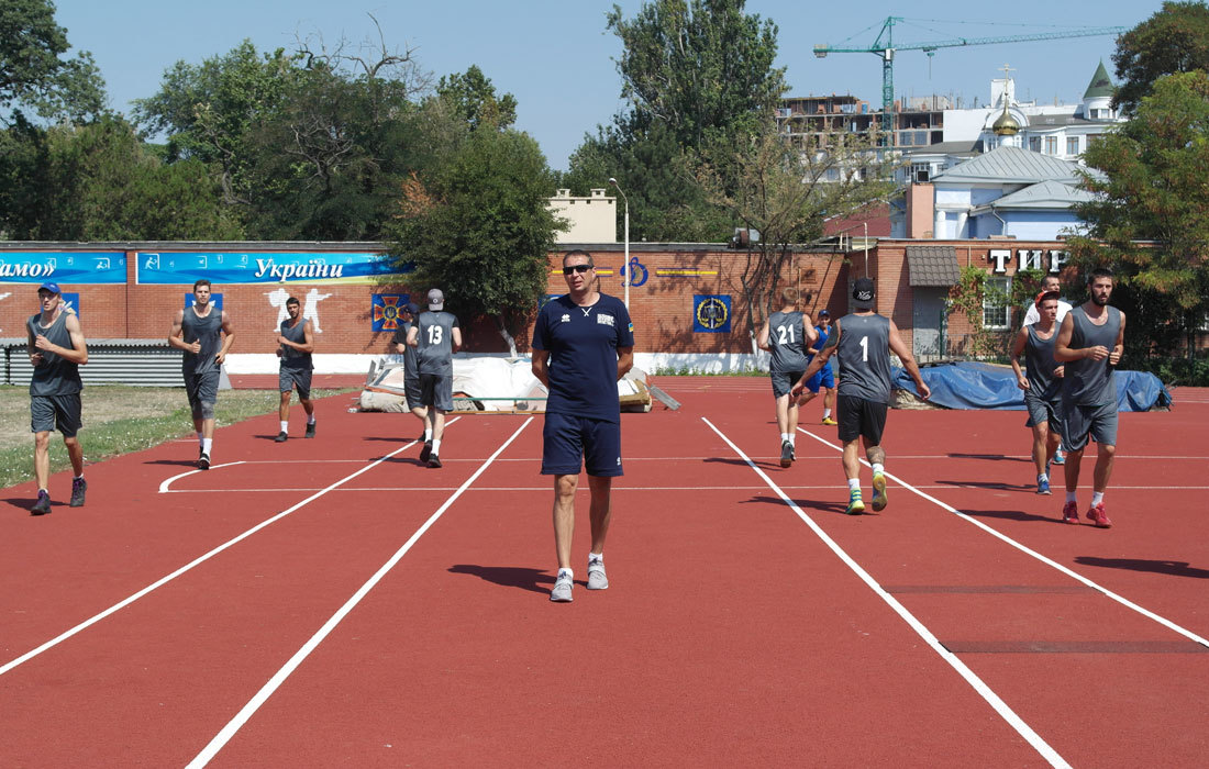 Динамо-Одеса розпочали перший тренувальний збір