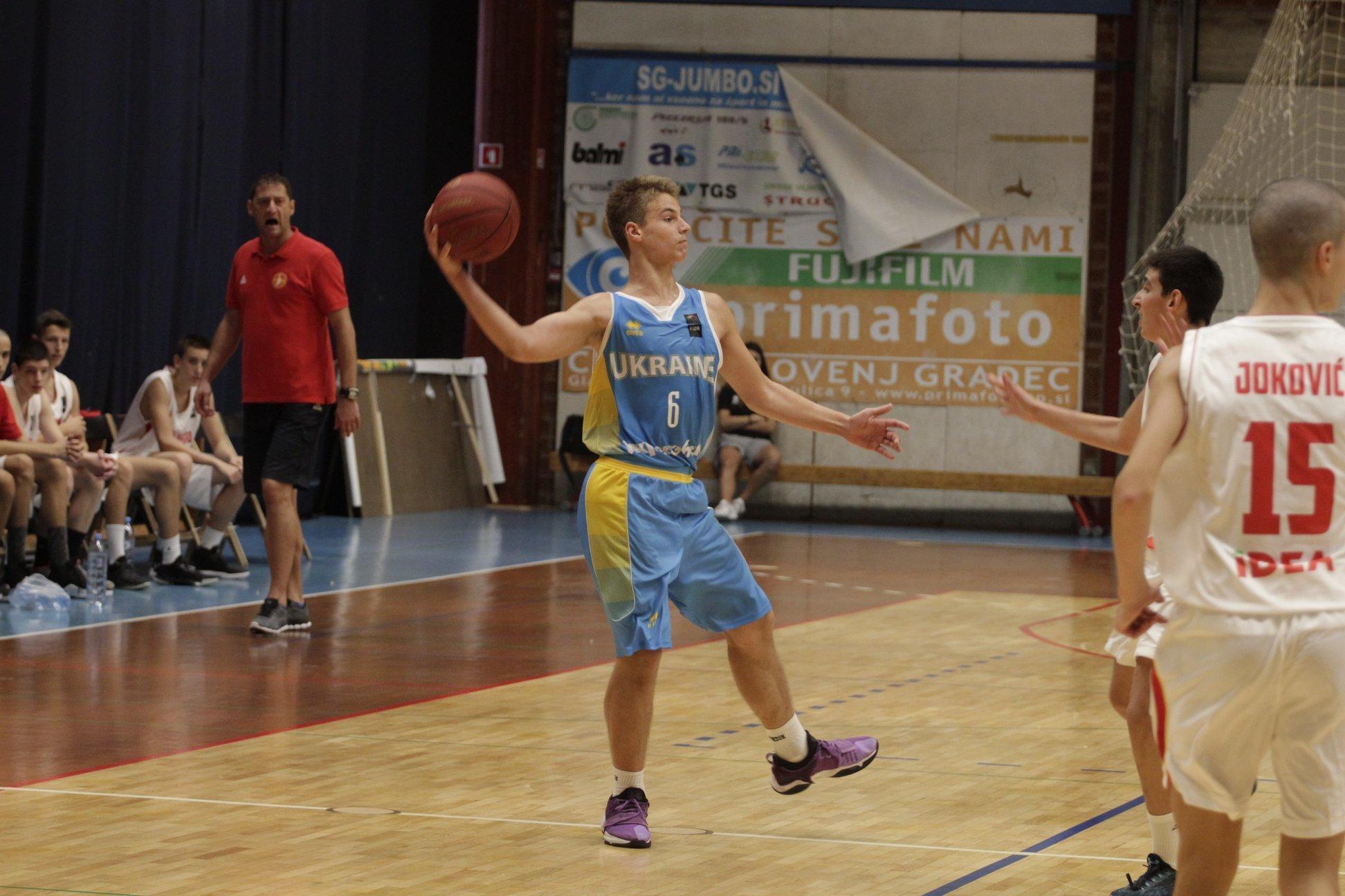 Збірна України U-14 здобула першу перемогу в Словенії