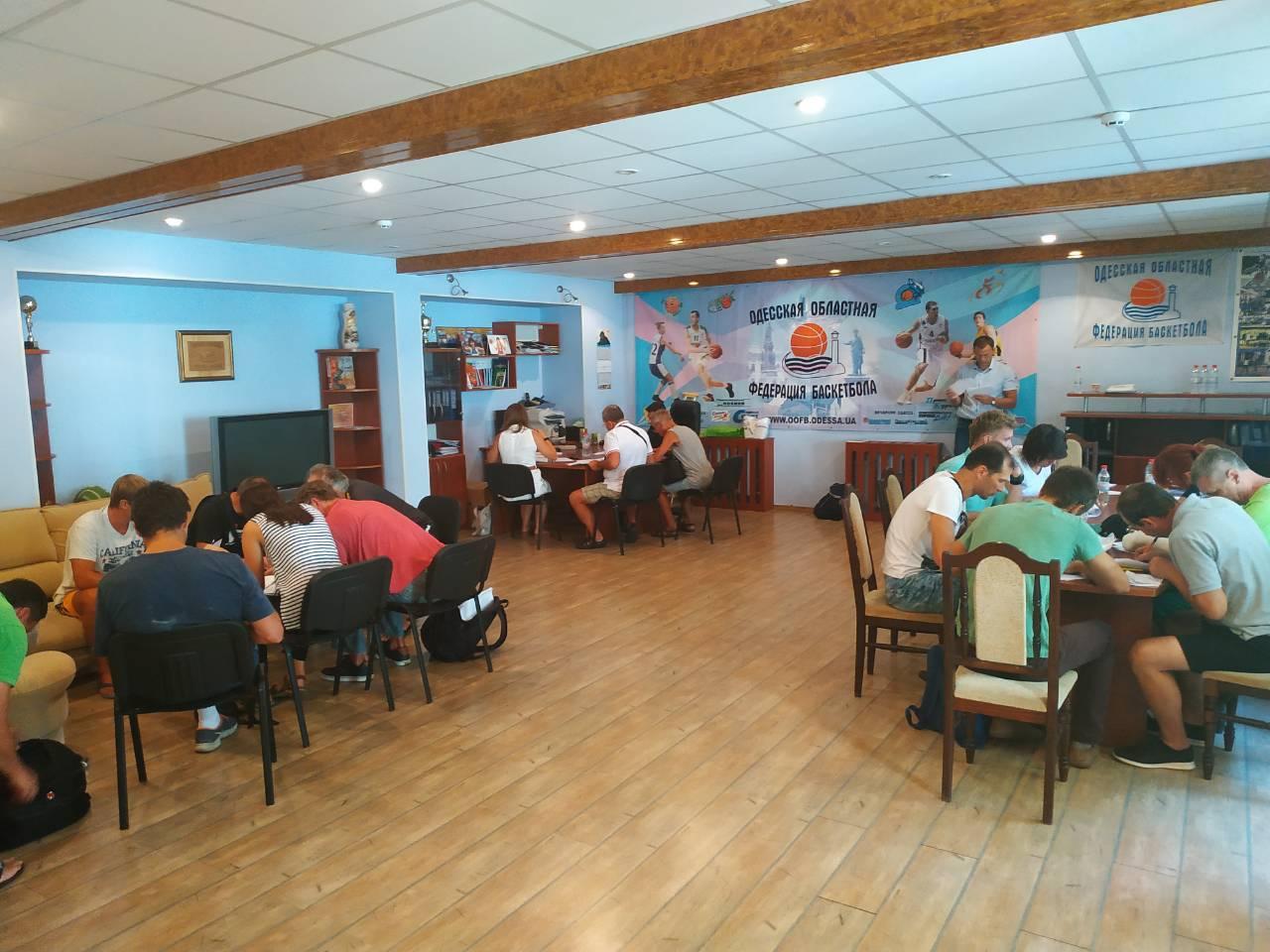 Понад 50 тренерів пройшли тестування у Одесі