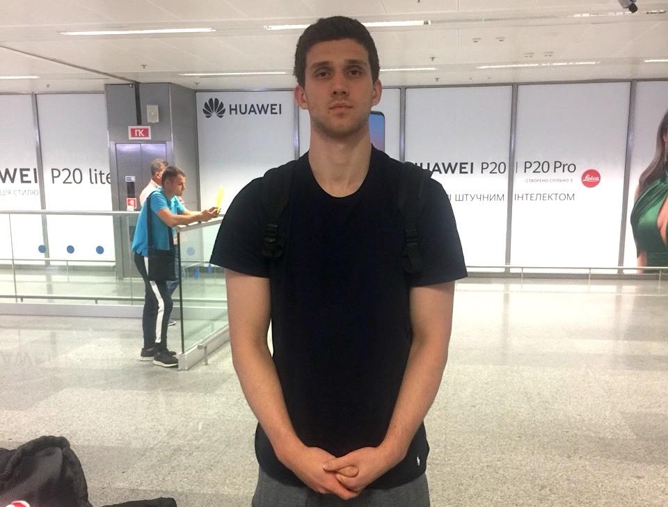 Святослав Михайлюк прибув до Києва