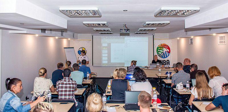 У Києві відбувся міжнародний семінар для баскетбольних статистиків