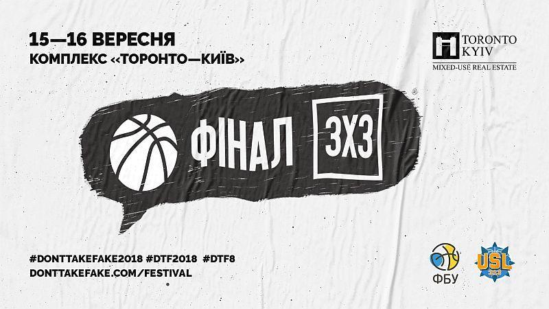 У Києві відбудеться національний фінал з баскетболу 3х3