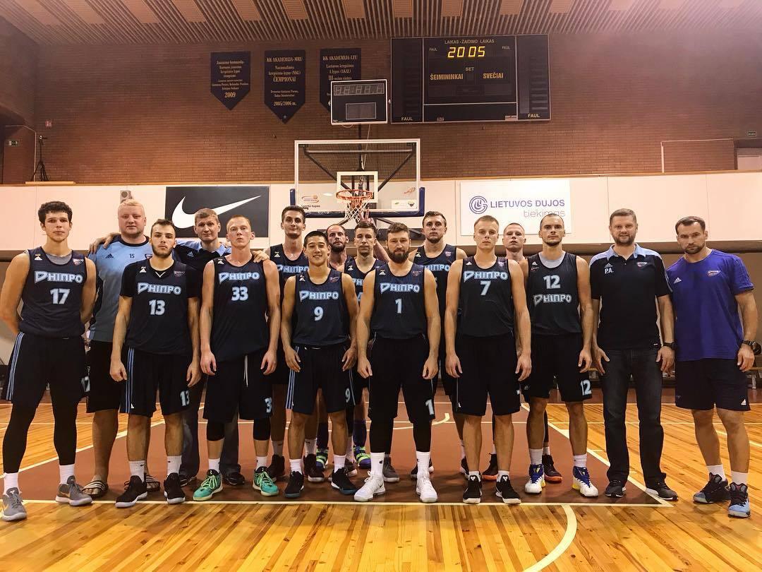 Дніпро провів два заключні спаринги в Литві