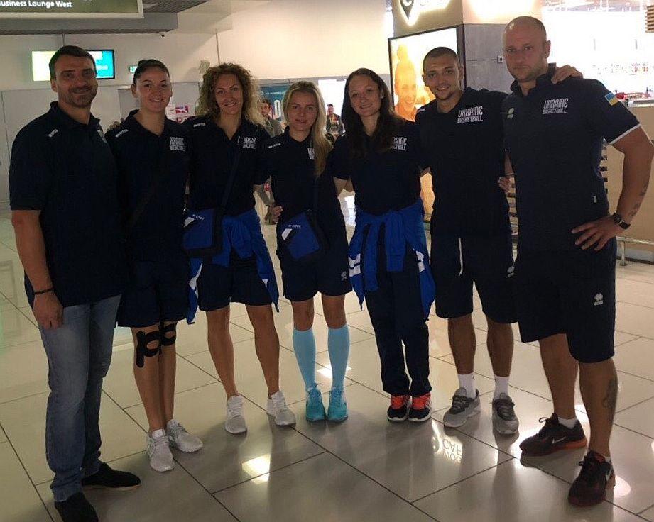 Жіноча збірна України 3х3 вирушила на чемпіонат Європи
