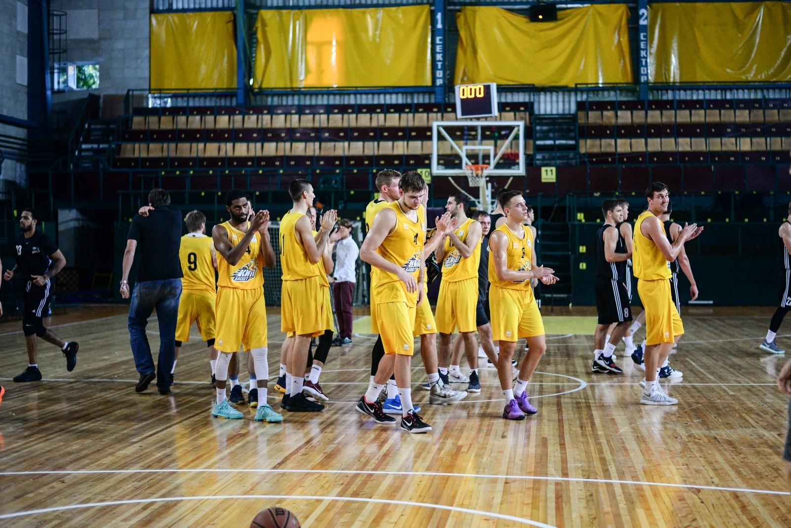 Товариський матч Київ-Баскета та Черкаських Мавп у столиці: телерепортаж
