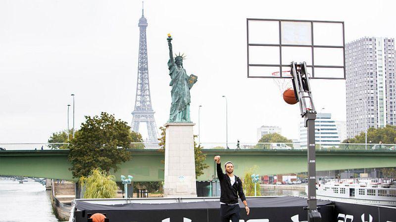 Як знаменитий чемпіон НБА Стефен Каррі підкорював Париж: фото та відео