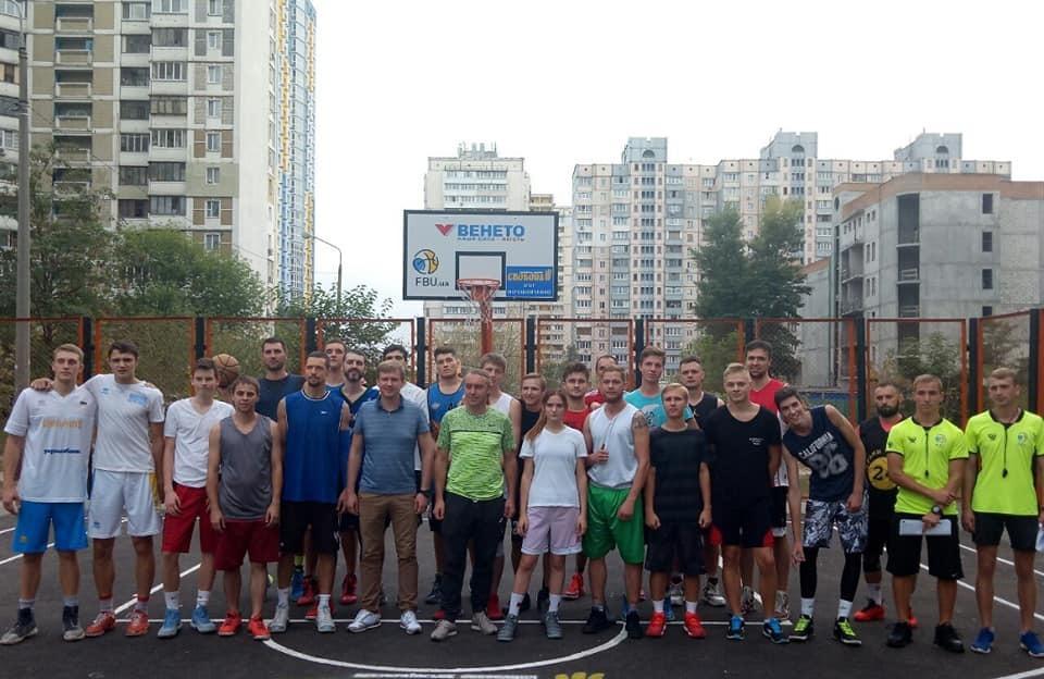 Баскетбол у кожен двір – майданчик від ФБУ у найнаселенішому районі Києва