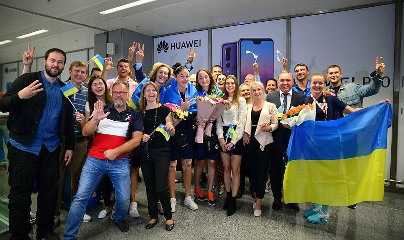 Збірна України повернулася з бронзою чемпіонату Європи: фотогалерея