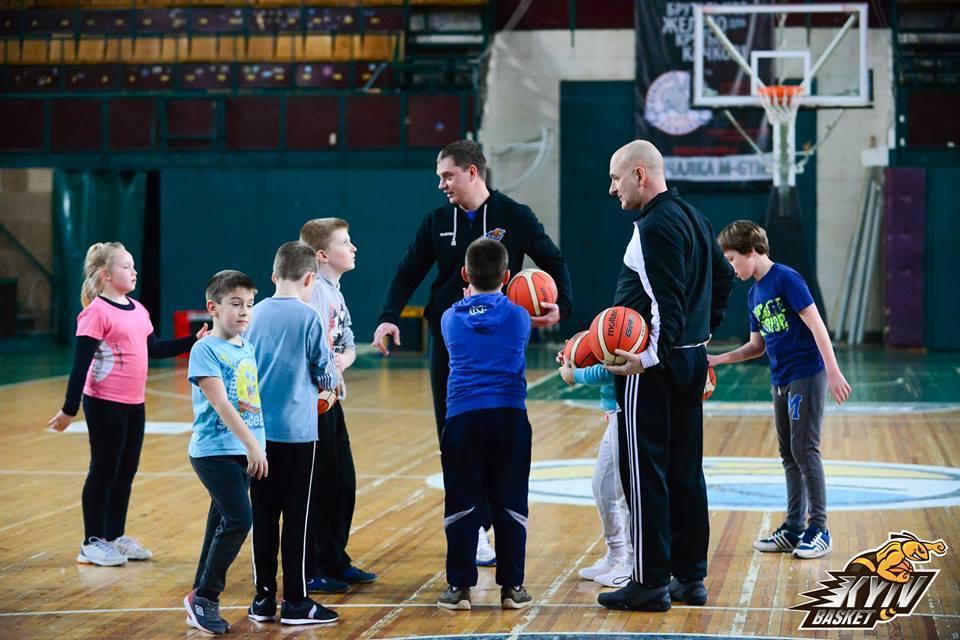 Після канікул відновила роботу баскетбольна Академія Київ-Баскета